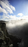 Looking down to Dettifoss Royalty Free Stock Photography