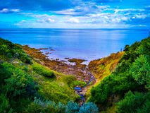 Mount Martha clifftop viewpoint Stock Image