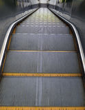 Looking down from the top of escalator Stock Photography