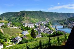 View of Cochem Germany Royalty Free Stock Photos