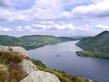 Looking down Ullswater, Lake District Stock Photography