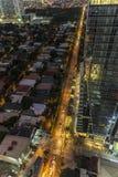 Looking down vertigo Royalty Free Stock Photos