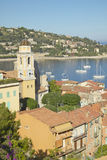 Looking down on Villefranche sur Mer, French Riviera, France Royalty Free Stock Photo