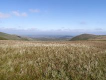 Looking eastwards from near Stybarrow Dodd, Lake District Stock Image