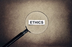 Looking ethics Stock Photos