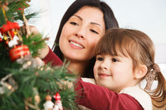 Looking forward to Christmas - Stock Image Royalty Free Stock Photography