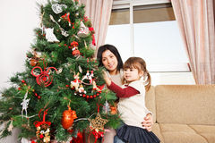 Looking forward to Christmas - Stock Image Royalty Free Stock Image