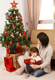 Looking forward to Christmas - Stock Image Royalty Free Stock Photos