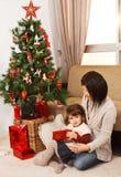 Looking forward to Christmas - Stock Image Royalty Free Stock Photos