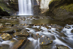 Looking Glass Falls, North Carolina Royalty Free Stock Images