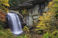 Looking Glass Falls in North Carolina Stock Image