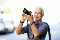 Looking for good shoots Royalty Free Stock Photo