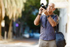 Looking for good shoots Stock Image