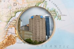 Looking in on Halifax Nova Scotia Royalty Free Stock Images