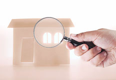Looking for a house Stock Photo