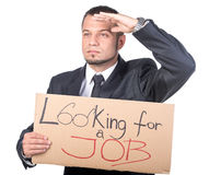 Looking for a job Stock Photos