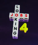 Looking for jobs Royalty Free Stock Photo
