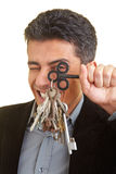 Looking through keys Royalty Free Stock Images