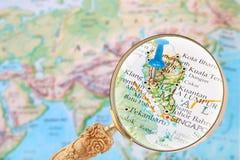 Looking in on Kuala Lumpur, Malaysia Stock Photos