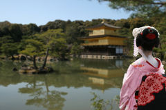Looking kyoto Stock Photography