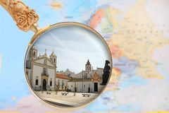 Looking in on Lagos, Algarve Stock Photos