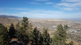 Looking from Lookout Mountain Royalty Free Stock Photo