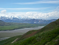 Looking at Mount McKinley Royalty Free Stock Photo