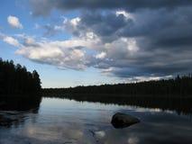 Looking nature of Karelia Royalty Free Stock Photos