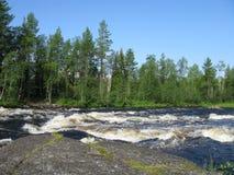 Looking nature of Karelia Stock Image