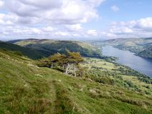Looking north down Ullswater, Lake District Royalty Free Stock Image