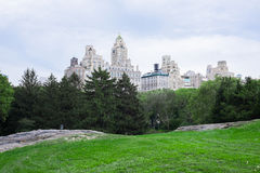 Looking out from Central Park Stock Photos