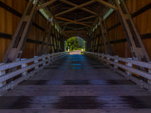Looking Out Mosby Creek Bridge Royalty Free Stock Photo