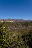 Looking out the Ojai Valley Royalty Free Stock Image