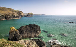 Looking out to sea from Kynance Cove Royalty Free Stock Photography