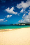 Looking out towards caribbean coast. From Grenada Grand Anse beach Royalty Free Stock Photography