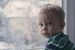 Looking out the window Royalty Free Stock Photography