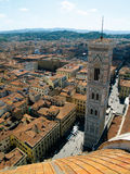 Looking over Florence, Italy Royalty Free Stock Photos