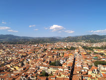 Looking over Florence, Italy Royalty Free Stock Photo