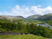 Looking over Grasmere Stock Images