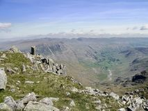 Looking over Great Langdale, Lake District Royalty Free Stock Photography