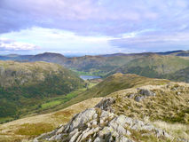 Looking over High Hartsop Dodd to Brothers Water Stock Photos
