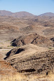 Looking over Mountains of Kuiseb Pass, Namibia Stock Photos