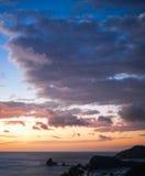 Nicaragua during twilight Stock Image