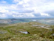Looking over Place Fell area to the north Royalty Free Stock Photos