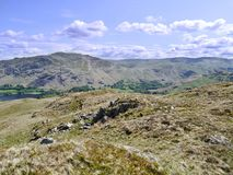 Looking over to Boredale Hause, Lake District Royalty Free Stock Photography