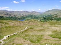 Looking over to Grasmere, Lake District Royalty Free Stock Photography