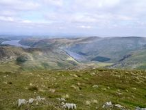 Looking over to Haweswater, Lake District Royalty Free Stock Images