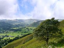 Looking over to Helm Crag, Lake District Royalty Free Stock Image
