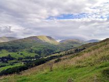 Looking over to Kirkstone Pass, Lake District Stock Photography
