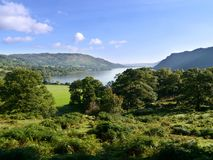 Looking over to Ullswater, Lake District Royalty Free Stock Photo
